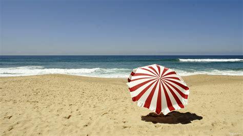 accueil bureau parasol sur la plage 1920x1080 pixel