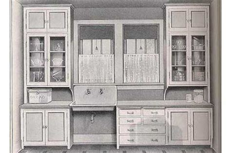 cabinet for kitchen what a 1912 kitchen used to look like california bungalow 1912