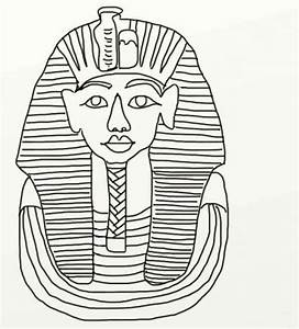 egyptian mask coloring pages king tut page grig3org With egyptian masks templates