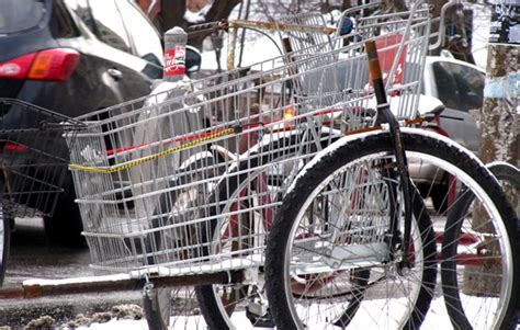 shopping cart bicycle trailers  urban country