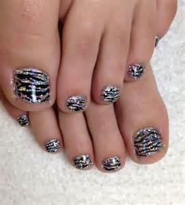 Mariah zebra rockstar toes g ? pixels nails