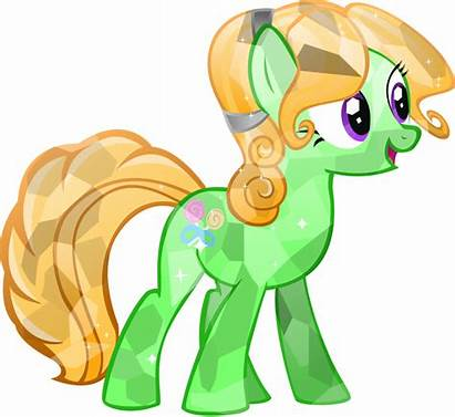 Pony Crystal Ponies Friendship Magic Candy Vector