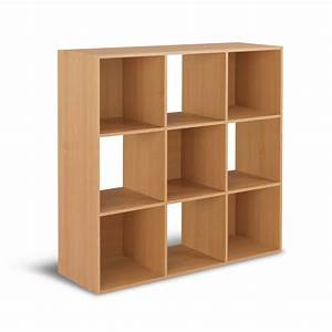 Shop Real Organized 9 Cube Maple Storage Organizer at
