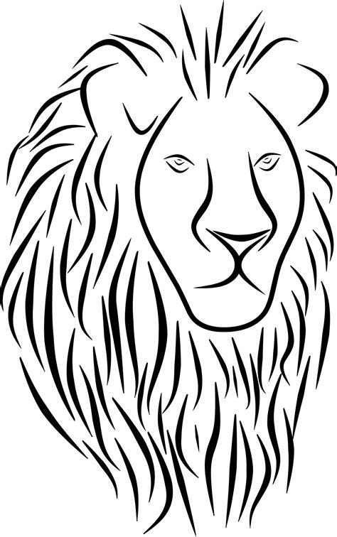 dibujos de leones petleon