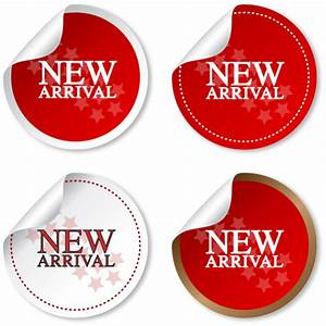 New arrival sticker vector – Over millions vectors, stock ...