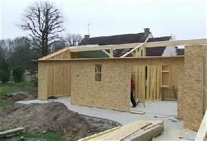 maisons bois en kits pre montes ou en kits economiques With agrandissement maison en kit