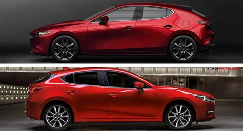 Let's Compare The New 2019 Mazda3 To Its Predecessor