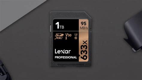 lexar weltweit erste sd karte mit  terabyte speicher