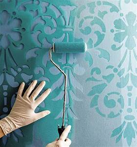 22 creative wall painting ideas and modern painting techniques for Creative wall paint designs