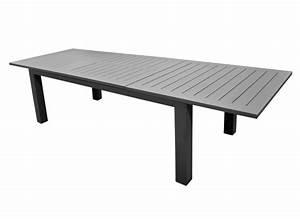 Table 12 Personnes : table de jardin aluminium 12 places aurore oc o proloisirs ~ Teatrodelosmanantiales.com Idées de Décoration