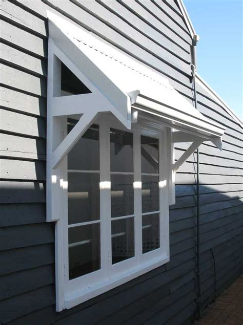timber awnings perth windows exterior weatherboard house facade house