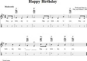 Happy Birthday Sheet Music Mandolin