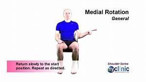 Shoulder Series - Medial Rotation  Strengthening