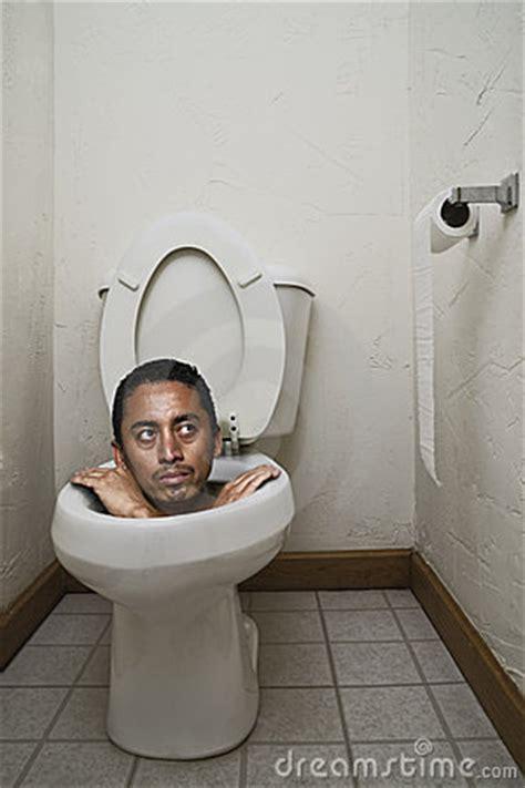 stuck on the toilet royalty free stock photos image 21013428