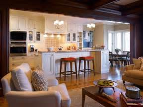 kitchen living space ideas open concept kitchen