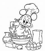 Coloring Pages Cooking Baking Kitchen Printable Mouse Kleurplaat Koken Bakken Mickey Google Colouring Disney Adult Kleurplaten Cook Bakery Van Zoeken sketch template