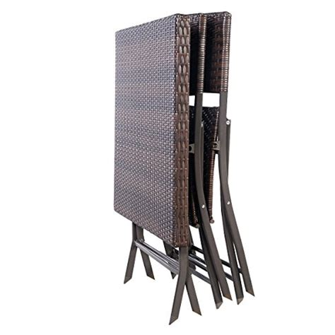 patio bistro outdoor folding table   chairs furniture