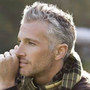 Hairstyles for Older Men with Gray Hair