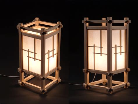 japanese lamp planning general woodworking talk wood talk  japanese lamp pinterest