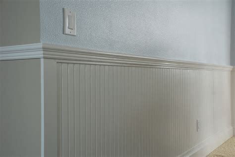 Chair Rail For Beadboard : Wall Treatments