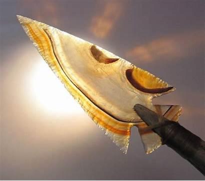 Arrowhead Agate Artifacts Indian Arrowheads American Native