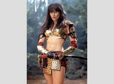 Xena Warrior Princess actress Lucy Lawless looks
