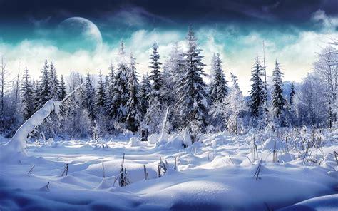 25 refreshing winter wallpapers