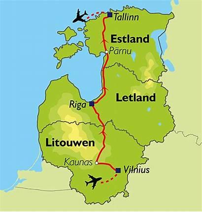 Baltische Landen Oad Staten