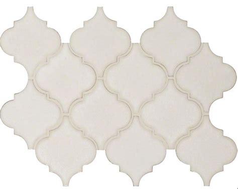 arabesque porcelain tile highland park antique white arabesque matte porcelain tile mosaic