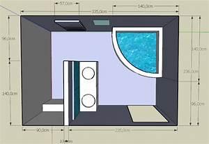 Implantation Salle De Bain : plan agencement salle de bain images ~ Dailycaller-alerts.com Idées de Décoration