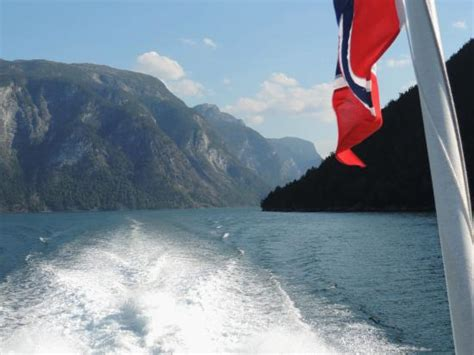 Express Boats Norway by From Norled Express Boat In Sognefjord Picture Of Norled