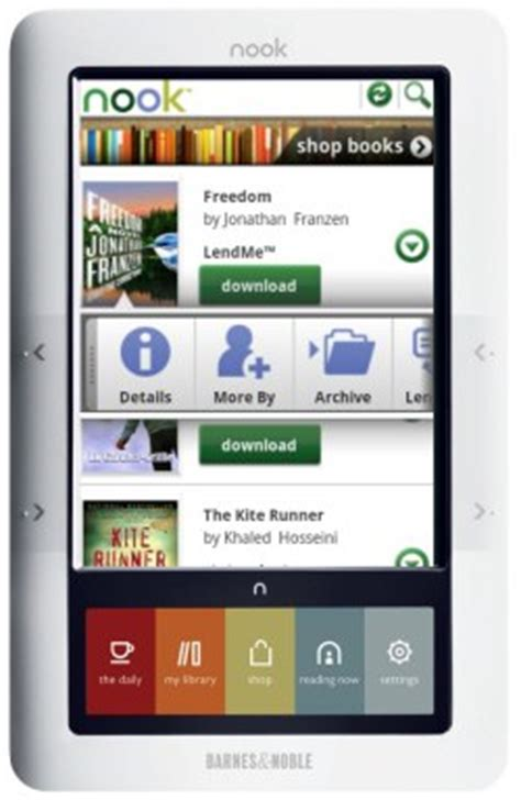 Barnes And Noble Purchase Order by Barnes Noble S Nookcolor Shipping Early To Pre Orderers