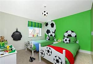 Sports Themed Bedrooms Football Theme With Football