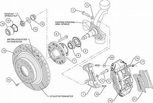 Wilwood Disc Brake Kit Front 74