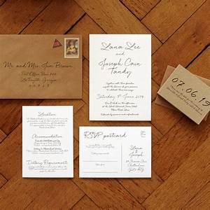 love letter wedding invitation feel good wedding invitations With order of wedding invitation suite