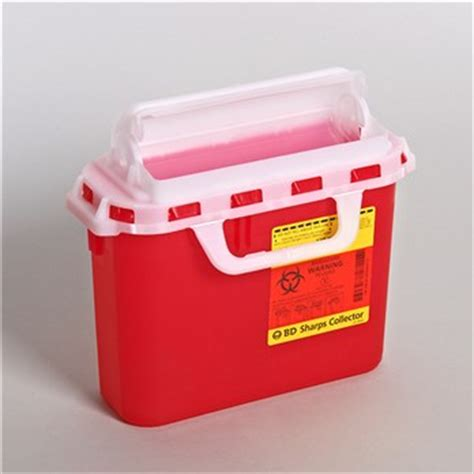 5.4 Quart BD Sharps Container   Stericycle