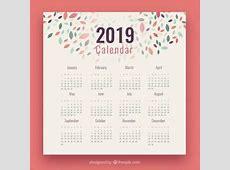 Los mejores Calendarios 2019 gratis editables y para
