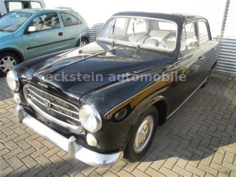 Peugeot 403 For Sale by 1962 Peugeot 403 Is Listed Sold On Classicdigest In