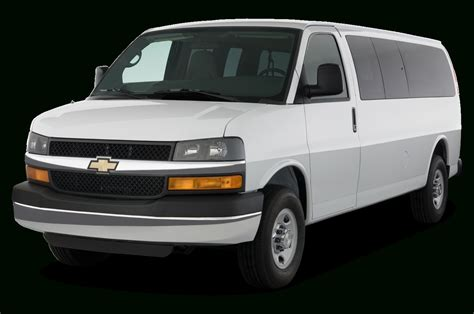 2019 Chevrolet Full Size Van Price  Car Concept 2018 2019