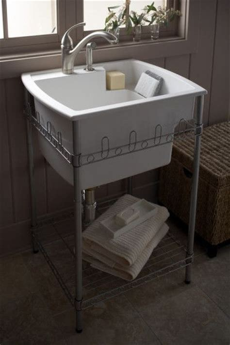 kitchen sink stand splash galleries sterling 995 u latitude laundry sink and 2909