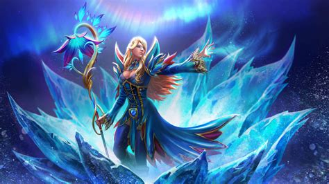 We have a massive amount of hd images that will make your computer or smartphone look. Game Dota 2 Agoes Gaming Hero Crystal Maiden Ultra Hd Wallpapers For Tablet Mobile Phones And ...