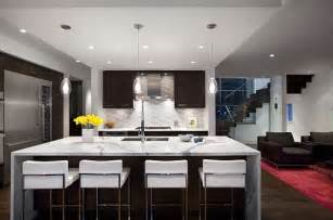 kitchen remodeling island modern kitchen remodeling with island as dining table decoist