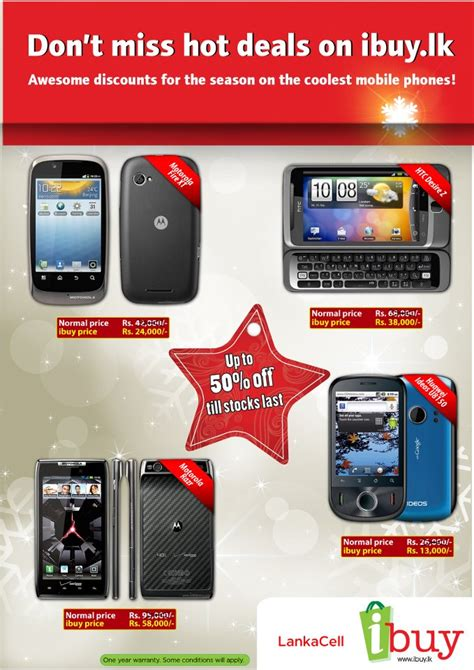 up to 50 for motorola htc huawei from ibuy lk synergyy