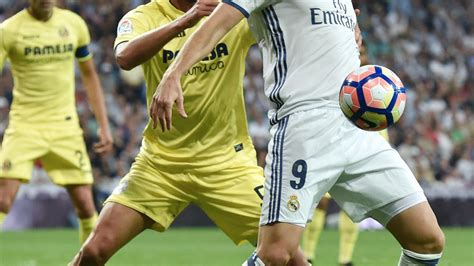 Real Madrid-Villarreal : Le Real manque le record, freiné ...