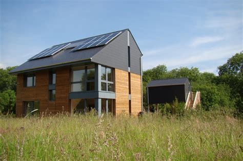 howe park passive house modern exterior