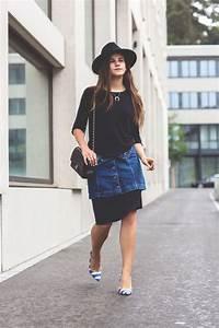 How to restyle a denim mini skirt?! u203a thefashionfraction.com