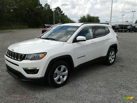 Compass Latitude 2018 by 2018 Jeep Compass Latitude In White 105694 All
