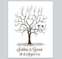 tri fold wedding invitation template fingerprint tree design 4 loving invitations