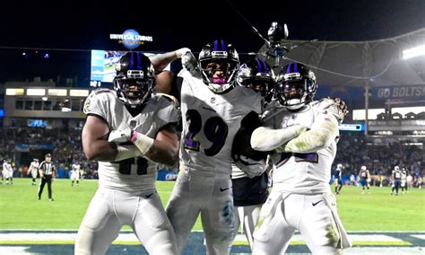 ravens defense earns game ball  heroic effort  chargers