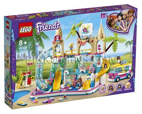 41430 LEGO® Friends Jautrais vasaras ūdens atrakciju parks ...